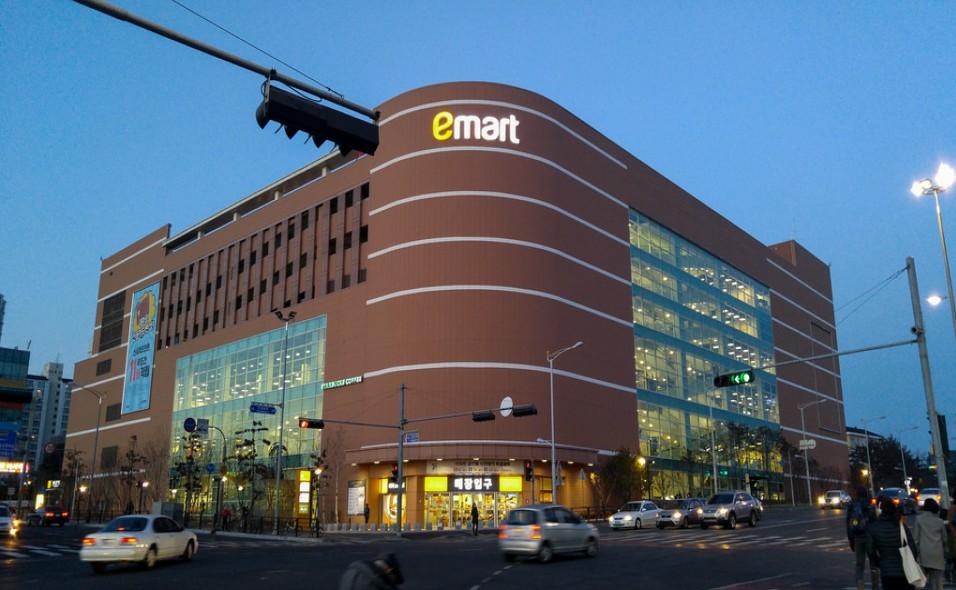 E-Mart begins selling 500 won splash mask - Lotte Mart is also promoting