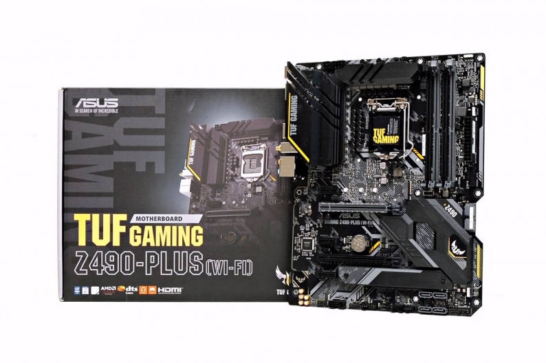 For Intel 10th generation processors, ASUS TUF GAMING Z490-PLUS motherboard